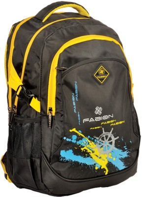 Fabion 1332 Black N Yellow 30 L Large Backpack