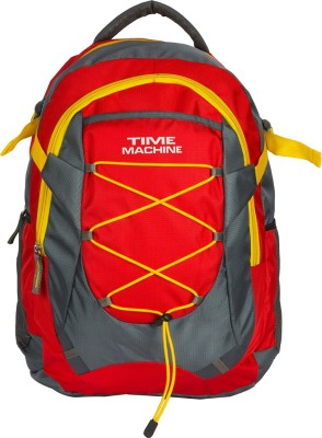 Time Machine Elegance Red Laptop/Travel/Casual 35 L Backpack