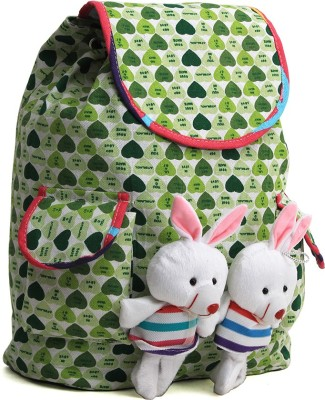Pochette Green Women & Girl 10 L Backpack