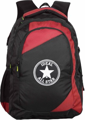 Ideal Statis Red and Black 20 L Laptop Backpack