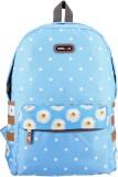 Bags R Us Polka Dots 18 L Backpack (Blue...