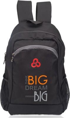 Cosmus Think Big College Bag 30 L Backpack(Black)