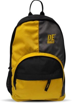 De, Bags Junior Small-Yellow 15 L Backpack