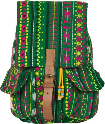 The House of Tara Woven Fabric 058 20 L Medium Backpack