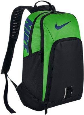Nike Alpha Adap 30 L Backpack(Green, Black)
