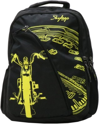 Skybags Flash 01 Black 15 L Laptop Backpack