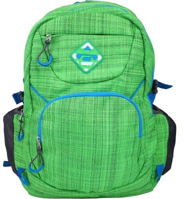 Super Drool Green Slab Trek and Travel Series 10 L Backpack