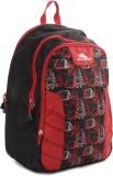 High Sierra Canine Backpack (Black, Red)