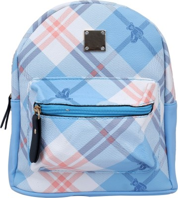 Super Drool Blue Mesh Stylish 2 L Backpack