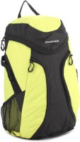 Fastrack Backpack(Black, Yellow)