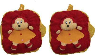 Pandora Kids School Bag - 2 Pack of Red-Yellow Micky 5 L Backpack