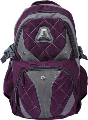 Super Drool Purple Trek and Travel Series 8 L Backpack