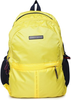 Tommy Hilfiger Converge 19 L Laptop Backpack(YELLOW014C)
