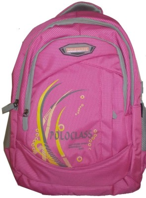 Polo Class Chex-Pnk Backpack