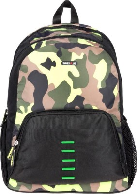 BagsRus Voyager Camo 36 L Laptop Backpack
