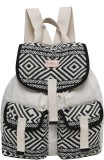 Anekaant Monochrome Free Size Backpack (...