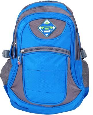 Super Drool Blue Mesh Trek and Travel Series 10 L Backpack