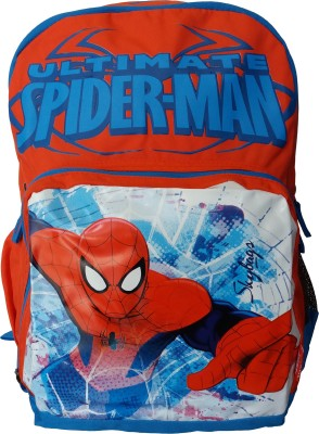 Skybags SB Marvel Champ Spiderman 03 Red 22 L Backpack(Multicolor)