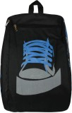 Bueva Stylish Blue Design Black 5.75 L B...