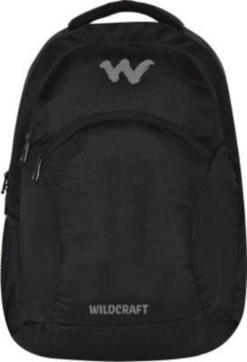 Wildcraft Ace 2_Black 21 L Medium Backpack