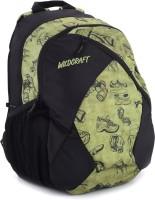 Wildcraft Stride EQ Backpack(Black, Green)