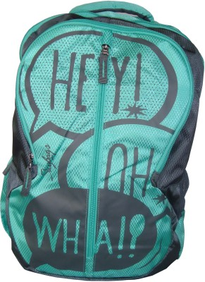 Skybags POGO PLUS 02 GREEN 25 L Backpack(Multicolor)