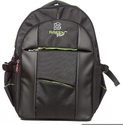 Raeen Plus Fome-Black-/-Green- 10 L Backpack