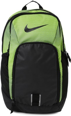 Nike Alpha Adap Graphic 30 L Laptop Backpack(Green, Black)