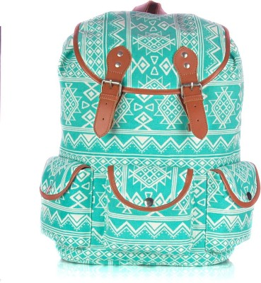 Shaun Design Tribal Print with Laptop Protection 12 L Large Backpack