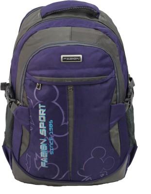Fabion 1349 Purple N Grey 36 L Large Backpack