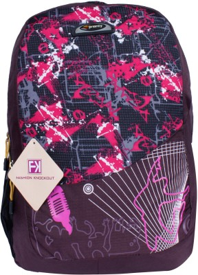 Fashion Knockout Music Wave 5 L Laptop Backpack
