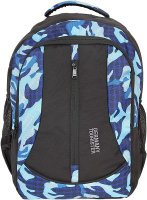 GERMANY TOURISTER GT02BLKBLUE 25 L Backpack