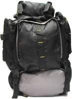 Fashion Knockout Tracking bag 45 L Laptop Backpack(Black, Grey)