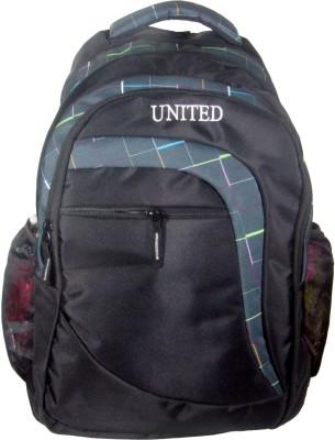 United Bags Checks Pi 35 L Medium Laptop Backpack