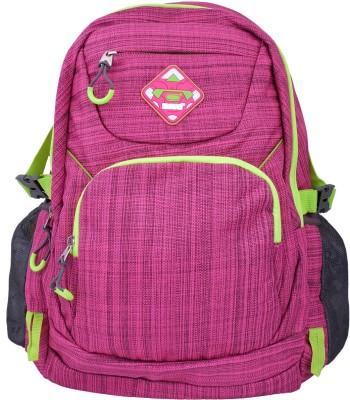 Super Drool Pink Slab Trek and Travel Series 10 L Backpack