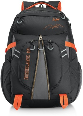 Skybags Highland 50 Black 50 L Laptop Backpack