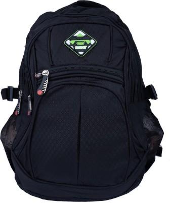 Super Drool Black Mesh Trek and Travel Series 10 L Backpack