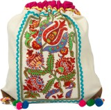 The House of Tara Embroidered Canvas 16 ...