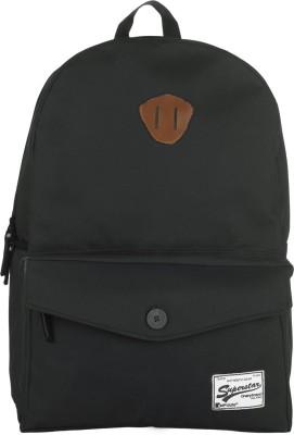 Impulse Flap Pocket Black 20 L Laptop Backpack