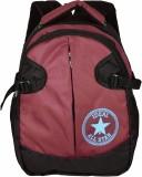 Ideal Strap 20 L Backpack (Red, Black)