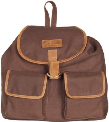 Hidemaxx Unisex Canvas-Leather 14 L Backpack
