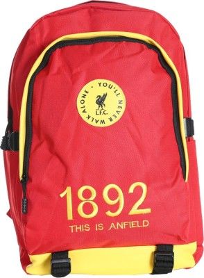 Liverpool FC Invader Red & Yellow Polyester 18 L Backpack