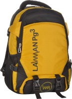LAWMAN PG3 NA 21 L Backpack(BLACK/YELLOW)