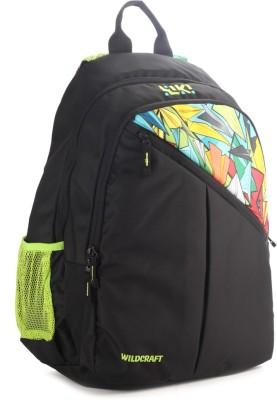 Wildcraft Sport 2 Black Backpack(Black)