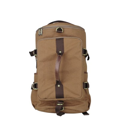 Zobello Hybrid Travel Canvas Backpack 25 L Backpack