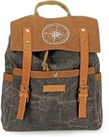 The House of Tara Dual Tone Canvas 15 L Backpack(Phantom Black)
