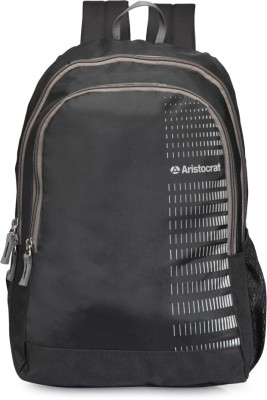 Aristocrat Pep 01 Full Black 21 L Backpack