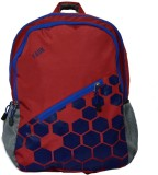 Yark 2402 Day Pack 22 L Backpack (Red)