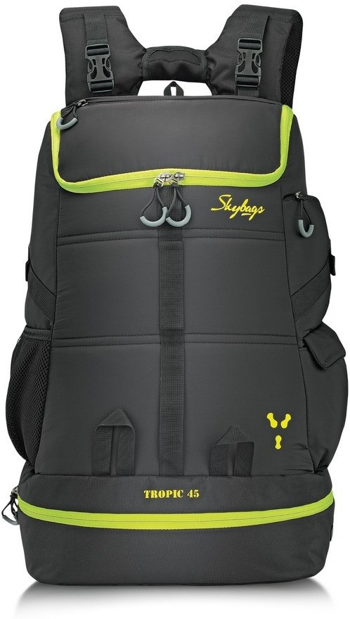 949e6156638 Skybags Tropic 45 Black 45 L Laptop Backpack(Black) Price in India 10 Feb  2019