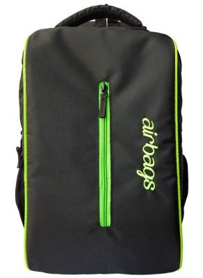 airbags 15.6 inch streaks black 3.5 L Laptop Backpack